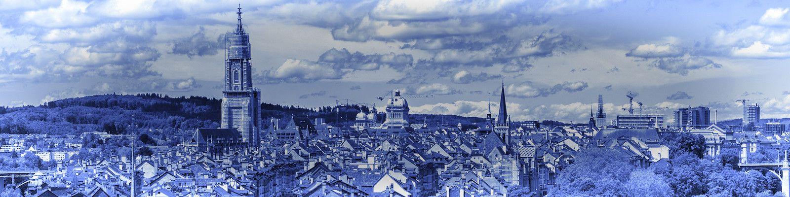Bern Panoramapano Monochrome